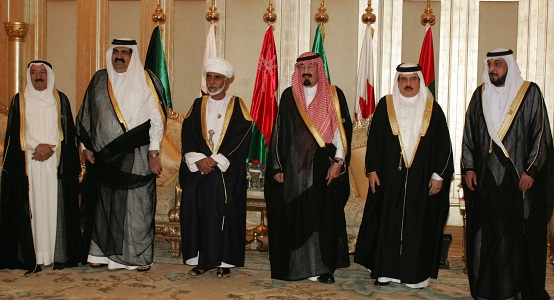 Heads of States of the Gulf Cooperation Council GCC