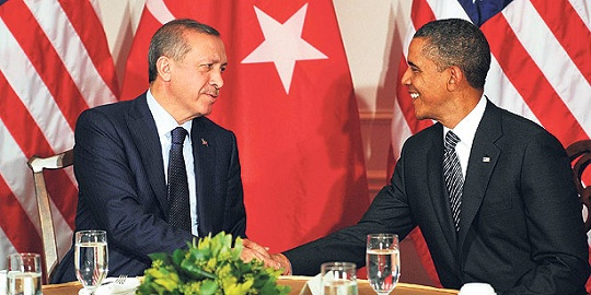 Obama and Erdogan of Turkey Oddly Effective Couple in a New Arab World