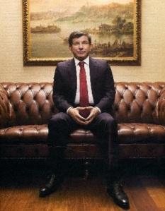 Turkey's Foreign Minister Ahmet Davutoglu