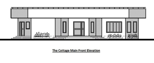 Cottage elevation
