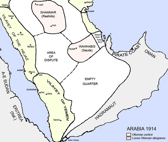 Treaty of Darin (1915): New Saudi Land Came in to Existance