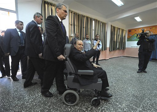 Algerian President Bouteflika