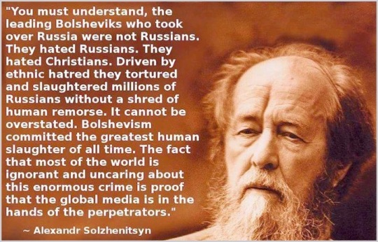 The Bolsheviks were Khazarian Mafia revenge on the Russian Czar and the innocent Russian people