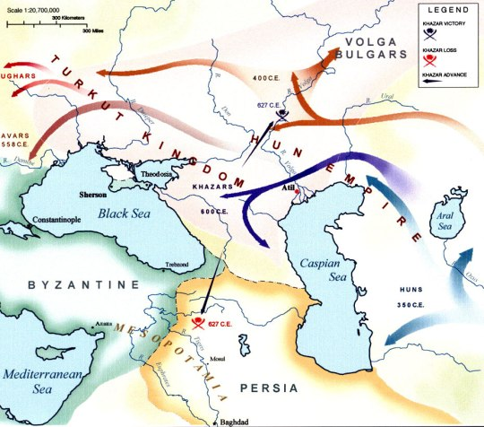 The Turkish Jewish Khazar